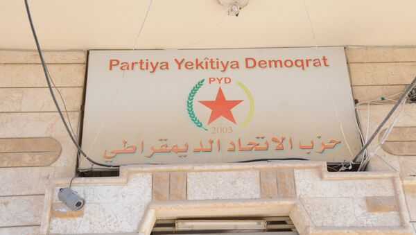 Syrian Kurdish Democratic Union Party (PYD) - Sputnik International