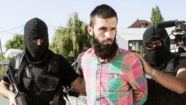 Capturing a jihadist in Kosovo (File) - Sputnik International