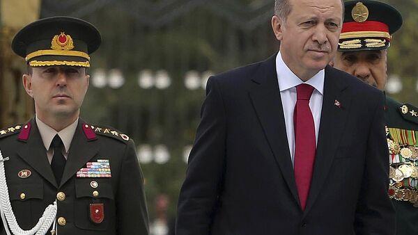 Turkish President Recep Tayyip Erdogan and Ali Yazici - Sputnik International