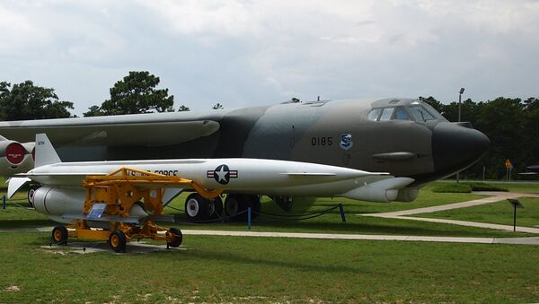 The Hound Dog was an air-launched supersonic nuclear missile designed to destroy heavily defended ground targets. - Sputnik International