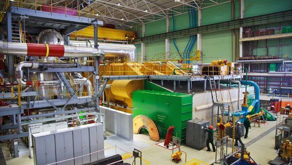 The Novovoronezh nuclear power station - Sputnik International