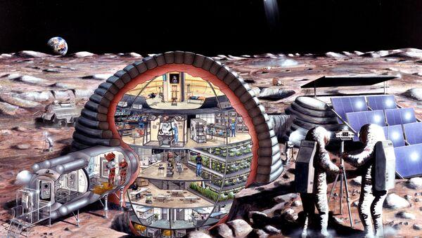 Lunar base - Sputnik International