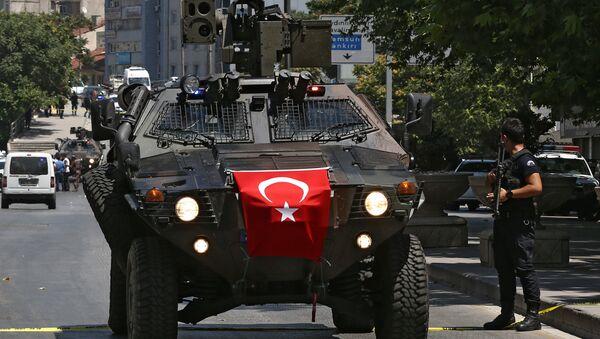 Turkish police special forces APC (File) - Sputnik International