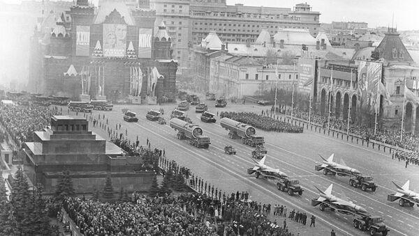 Military Parade on Red Square - Sputnik International
