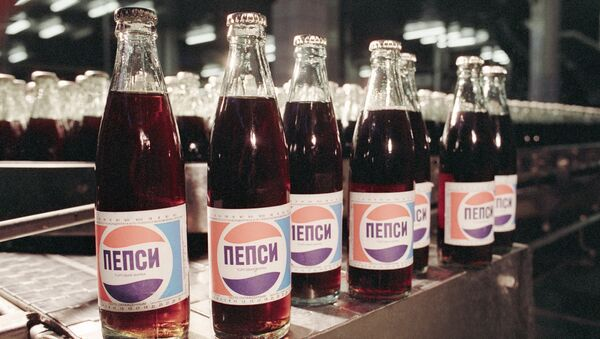 Pepsi-cola, finished product of the Moscow beer and soft drinks enterprise - Sputnik International