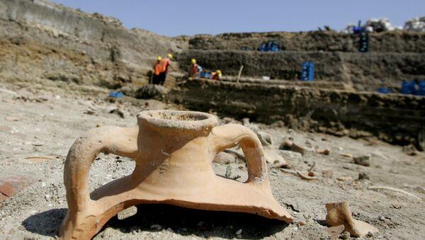 Archaeological site in Turkey. File photo - Sputnik International