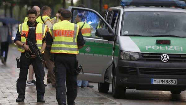 Munich Police During Shooting - Sputnik International
