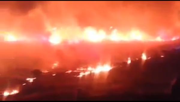 Massive Fire in Turkey - Sputnik International