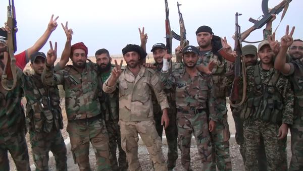 Syrian army - Sputnik International