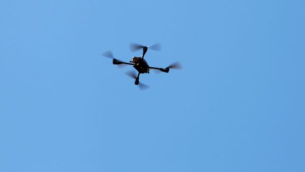 U.S. Marines fly a Grp I UAS: Instant Eye drone as part of the Rim of the Pacific (RIMPAC) 2016 exercise held at Camp Pendleton, California United States, July 13, 2016. - Sputnik International
