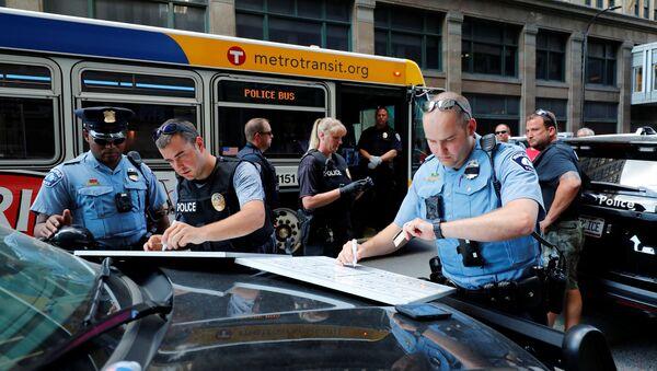 Minneapolis police. (File) - Sputnik International