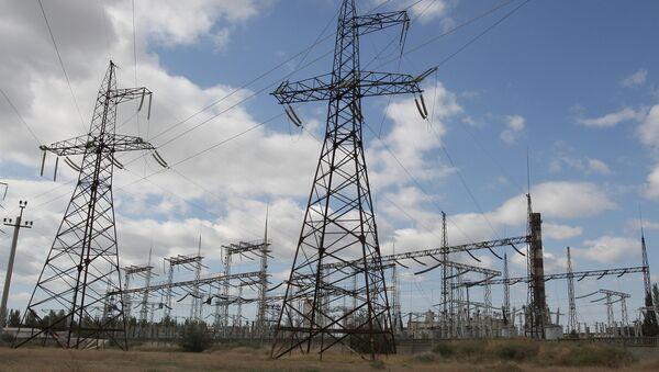 Pylons of a power transmission line - Sputnik International