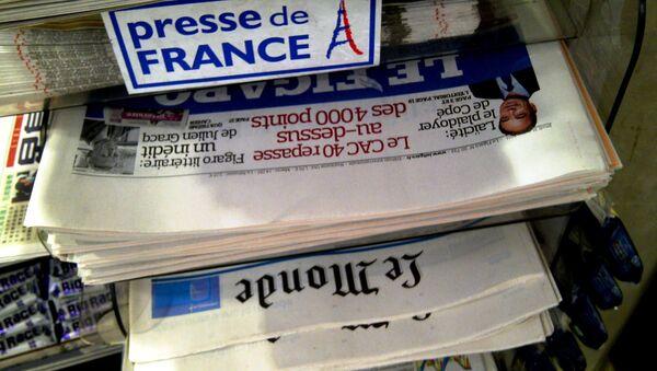 French newspapers - Sputnik International