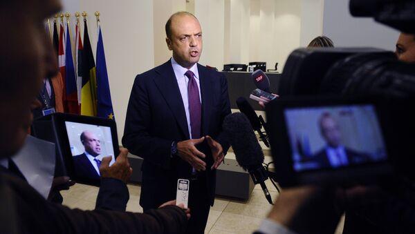 Italian Minister of Interior Angelino Alfano (File) - Sputnik International