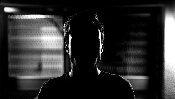 A silhouette of a man - Sputnik International
