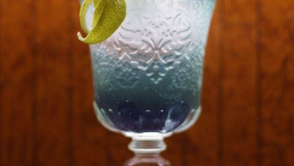 Blue/Squirtle: 25ml Belvedere Vodka, 5ml Lime Juice, 5ml Violet Liqueur topped with Fever Tree Lemonade. - Sputnik International