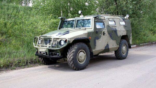 Tigr all-terrain armored vehicle - Sputnik International