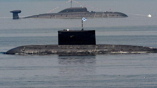 Russian Pacific Fleet submarines during Navy Day celebrations in Vladivostok - Sputnik International