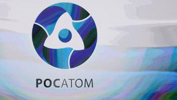 Rosatom State Nuclear Energy Corporation logo. (File) - Sputnik International
