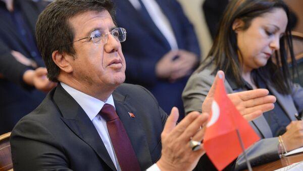 Turkish Economy Minister Nihat Zeybekci - Sputnik International