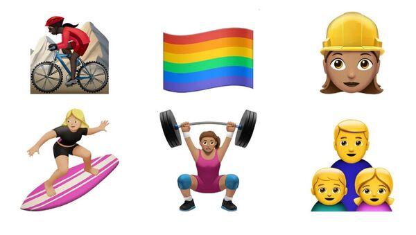 About Time! Apple to Add New Emoji's to Reflect Diversity - Sputnik International