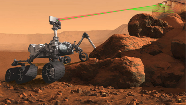 A microphone is being added to the 2020 rover's laser-firing SuperCam. Another stand-alone workhorse microphone will be mounted on the front starboard corner of the rover to listen for sounds emanating from the wheeled Mars vehicle. - Sputnik International