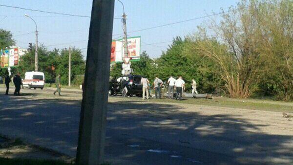 Explosion in Lugansk - Sputnik International