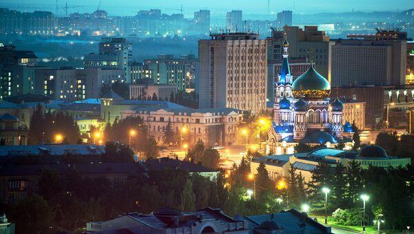 Cathedral Square in Omsk. - Sputnik International
