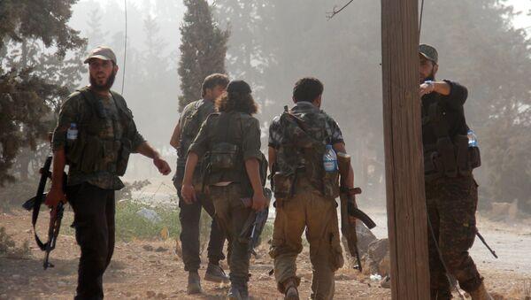 Fighters from the former Al-Nusra Front - Sputnik International