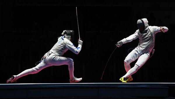 Olympics 2016. Foil fencing - Sputnik International