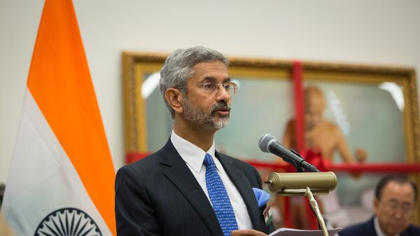 India's Foreign Secretary Subrahmanyam Jaishankar. (File) - Sputnik International