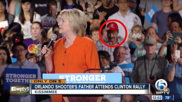 Orlando Nightclub Shooter's Father Appears at Hillary Clinton Rally - Sputnik International