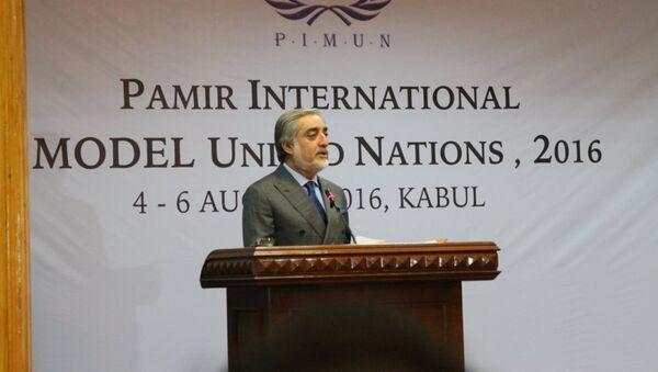Abdullah Abdullah, Chief Executive of the Islamic Republic of Afghanistan - Sputnik International