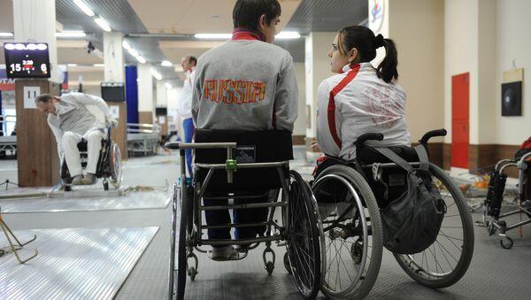 Paralympic fencers  (File) - Sputnik International