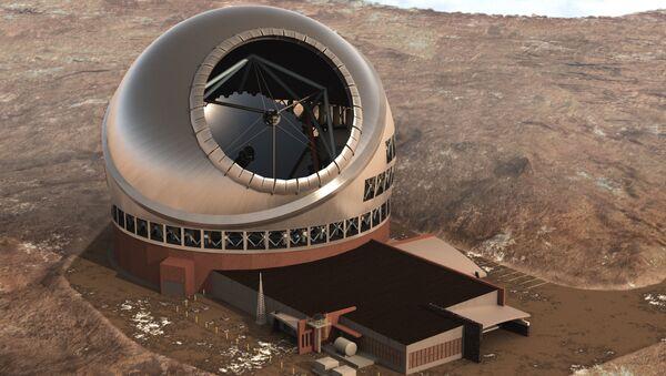 Computer rendering of the Thirty Meter Telescope - Sputnik International