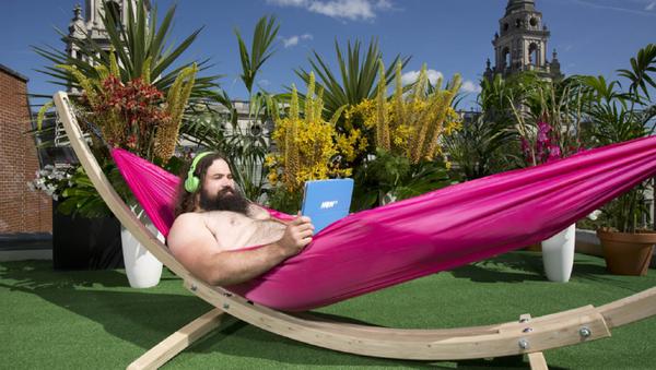 In the Buff: London's First Nudist Bar Terrace Opens - Sputnik International