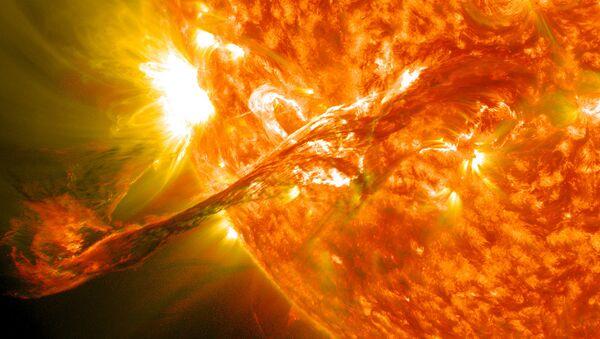 Magnificent CME Erupts on the Sun - Sputnik International