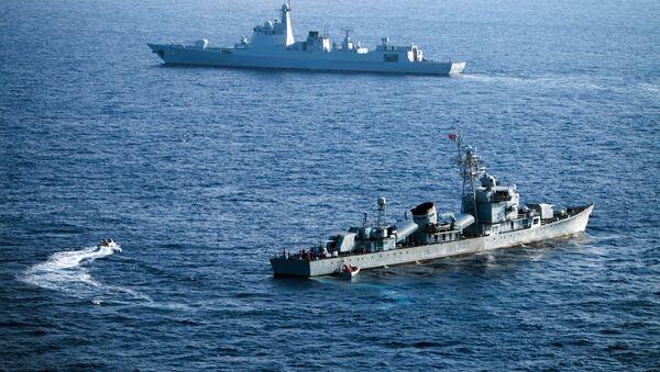 Chinese warships - Sputnik International
