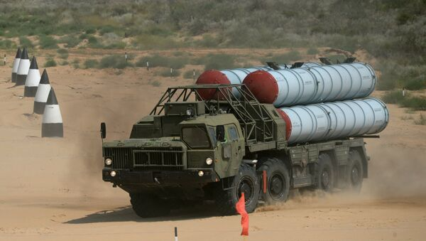S-300 anti-aircraft missile system - Sputnik International