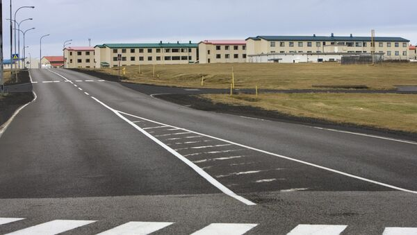 General view of a former US naval air base and hospital in Keflavik, Iceland (File) - Sputnik International