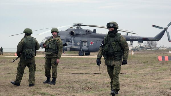 Black Sea Fleet takes part exercise - Sputnik International