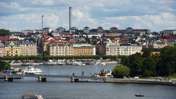 A view of buildings in Stockholm's Oestermalm - Sputnik International