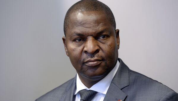 President of the Central African Republic Faustin-Archange Touadera - Sputnik International