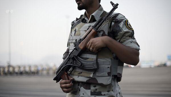 Member of the Saudi special police - Sputnik International