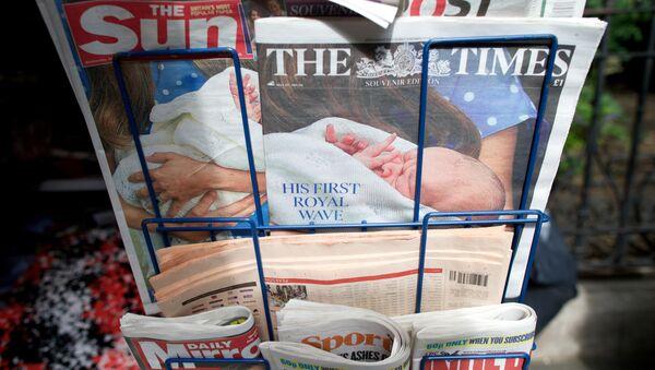 A selection of British national newspapers - Sputnik International