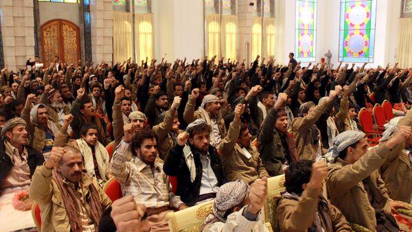 Supporters of Shiite Huthi rebels (File) - Sputnik International
