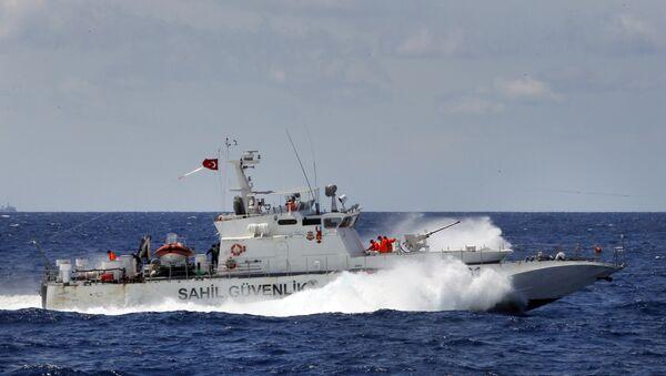 Turkish Coast Guard vessel - Sputnik International