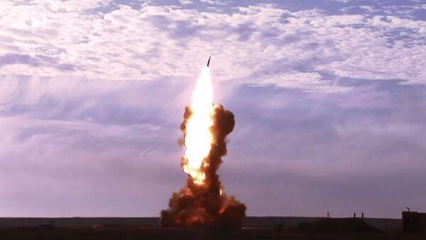 Russian Anti-ballistic missile test - Sputnik International