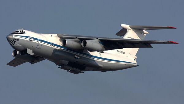 Russian Air Force Ilyushin Il-76MD - Sputnik International