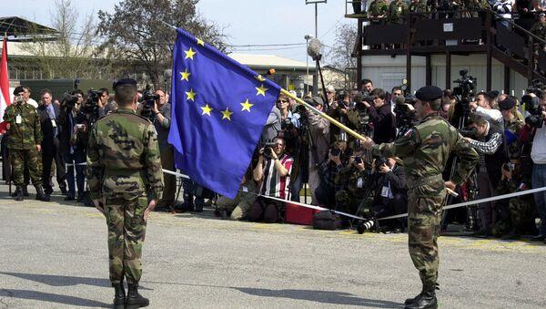 NATO EUFOR ceremony - Sputnik International